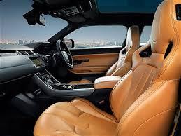 Evoque Interior Photos Video Victoria Beckham Unveils Range Rover Design Inspired By