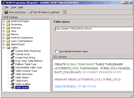 Create Temporary Table Kb6964 How To Enable True Temporary Tables In Oracle In