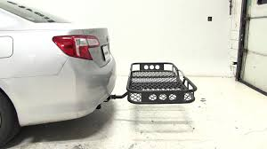 hitch for toyota camry review of the rola 21x55 hitch cargo carrier on a 2012 toyota