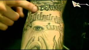 exclusive with hetfield on his tattoos