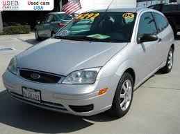 ford focus 2005 price for sale 2005 passenger car ford focus zx3 tustin insurance rate