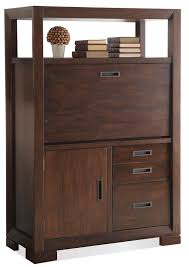 Computer Desk Armoire by Computer Armoire W Drop Front By Riverside Furniture Wolf And