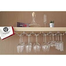 wine glass cabinet wall mount amazon com distressed barnwood brown wall mounted 12 wine glass