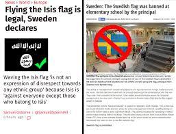 Sweedish Flag Mark Collett On Twitter