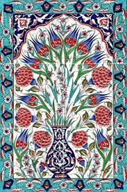 Ottoman Tiles Ottoman Traditional Turkish Tiles Osmanlı çini Karo Panoları