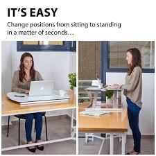 Standing To Sitting Desk The G Pack Pro Simple Standing Desk 24