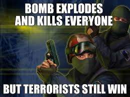 Counter Strike Memes - counter strike logic meme by rapper99 memedroid