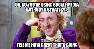 Social Media Meme - social media strategy meme boostlikes com