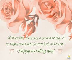 happy wedding day wedding wishes