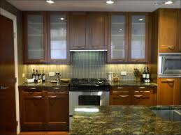 Replace Kitchen Cabinets With Shelves by Kitchen Wood And Glass Cabinet Cabinet Refacing Replacement