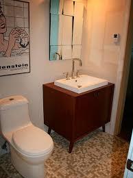 Bathroom Vanity Vancouver by West Vancouver Bathroom Renovation Mid Century Vanity David Alan
