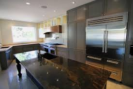 kitchen islands calgary miami marble kitchen island transitional with silver bar pull