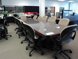 Granite Conference Table Walltech Granite Top Conference Table