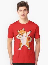 Japanese Father Meme - dabbing doge shiba inu t shirt funny meme japanese dog puppy gift