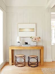 burl wood console table jenni kayne s modern meets farmhouse vibe stace king