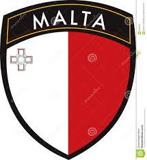 Matla Flag Malta Vector Patch Flag Stock Vector Image Of Flag Leaf 6620220