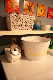 Laundry Room Storage Bins by Iheart Organizing June Featured Space Laundry Room Storage Galore