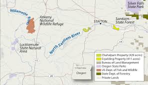 Map Of Oregon State Parks by North Santiam River Western Rivers Conservancy