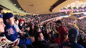 new york rangers fans new york rangers fans to ottawa sit the down youtube