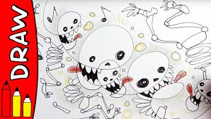 Easy To Draw Halloween by How To Draw Skeletons Halloween Ideas For Kids øistein