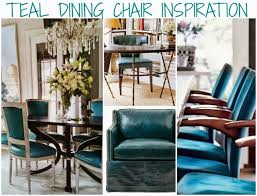 Teal Dining Room Chairs Likeable Other Blue Leather Dining Room Chairs On With