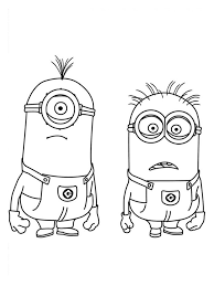 9 minion coloring pages images drawings