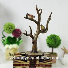 factory custom made high quality resin tree sculpture of