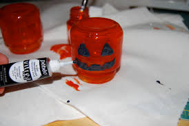 Recycled Halloween Crafts - amber dusick recycled baby food jar crafts halloween decor