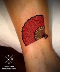 18 best hand fan tattoos images on pinterest beautiful feminine