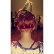 redhair nape shave 28 best hair images on pinterest undercut hair cut and hair cuts