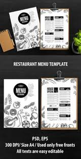 menu template bright wooden pattern decoration alimentos y