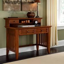 Oak Computer Desk With Hutch Office Furniture Mission Furniture Craftsman Furniture