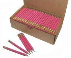 Color Pink by Amazon Com Half Pencils With Eraser Golf Classroom Events
