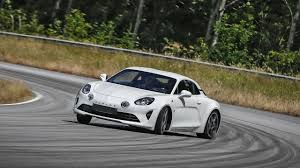 alpine a110 shotgun in the new alpine a110 top gear