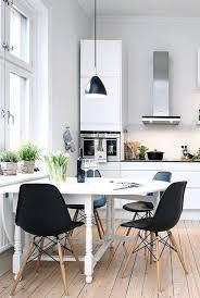black scandinavian dining chairs u2014 prefab homes design