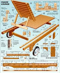 Free Wood Furniture Plans Download by Lounge Chair Plans Garden Stuff Pinterest Chaise Lounges