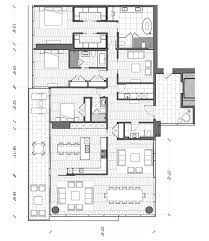 Penthouse Floor Plan by Penthouse Luxury Waiea At Ward Village