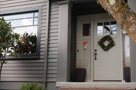 front door colors for gray house what does the color of your front door say about your home