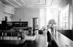 1930 Home Interior by Mgm Art Director Cedric Gibbons Livingroom Santa Monica 1930s