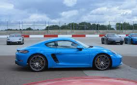 porsche cayman blue 2017 porsche 718 cayman the sound of speed 22 31