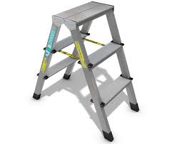 three step ladder 3d objects misc