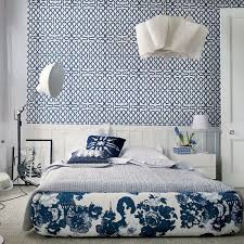 Best Blue Interiors Images On Pinterest Blue Interiors - Blue and white bedrooms ideas