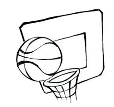 Basketball Coloring Pages Color Page Printable Thaypiniphone Basketball Color Page