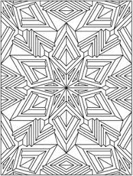 complex coloring pages for adults free printable abstract