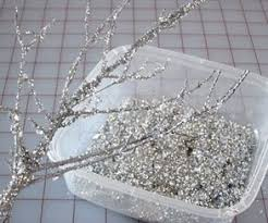 Glitter Christmas Ornaments To Make by Holiday Decorating Making Sparkly Branches Winter Christmas