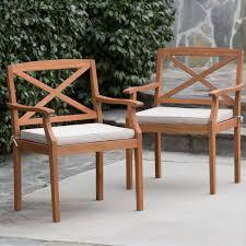 Wood Patio Furniture Sets - belham living brighton outdoor wood conversation sectional set