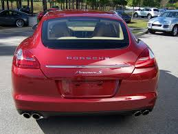 Porsche Panamera Red Interior - 2010 porsche panamera s in ruby red with luxor beige interior