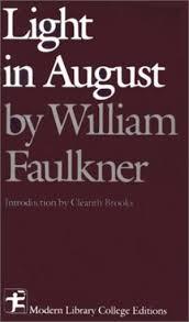 faulkner light in august light in august by faulkner first edition abebooks