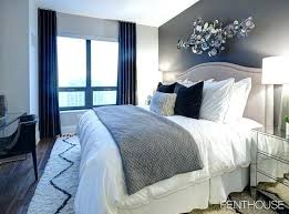 bed in the living room navy blue bed grey and blue bedroom decor mesmerizing grey and navy
