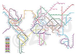 map underground world metro map metro subway underground differen flickr
